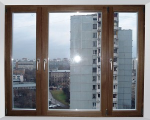 Рама деревянного окна