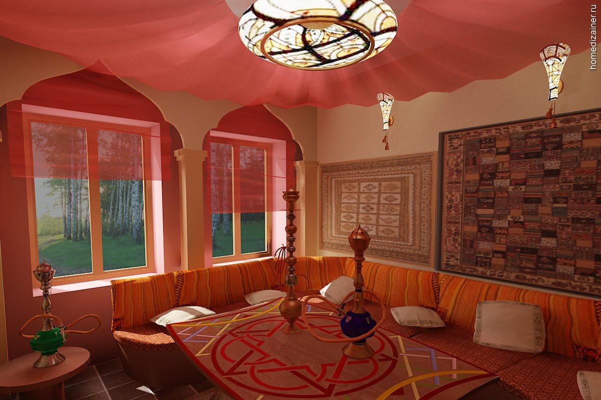 Дизайн квартир в восточном стиле