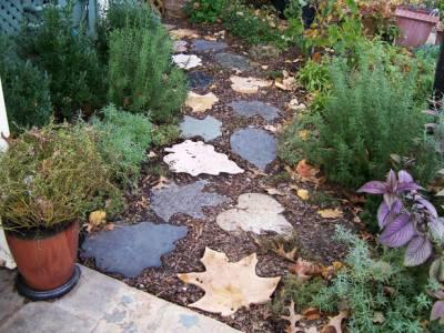 оригинальные садовые дорожки