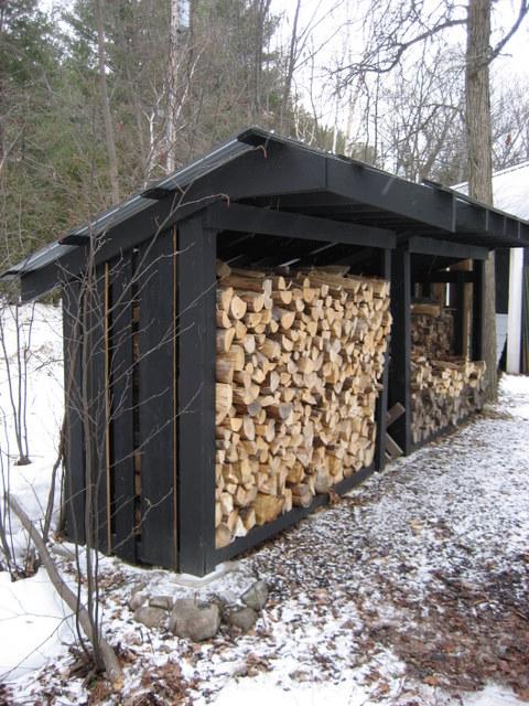 как сделать дровяник в частном доме трудоустройство Финляндии Хотелось