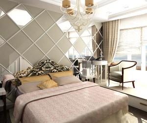 Применение зеркал для оформления спальни