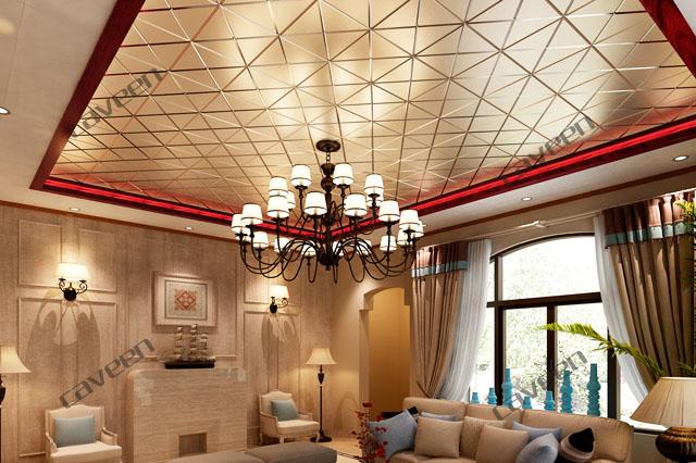 Алюминиевый подвесной кассетный потолок Сaveen