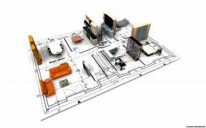 Программу проектирования и дизайна квартир