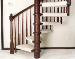 Ограждение винтовой лестницы