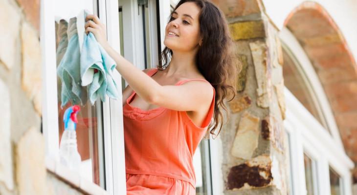 Как быстро и правильно помыть окна без разводов - обзор средств и приспособлений