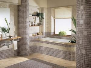 Ванная комната отделка керамогранитом