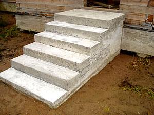 Крыльцо свими руками из бетона