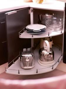 Современные кухонные полки