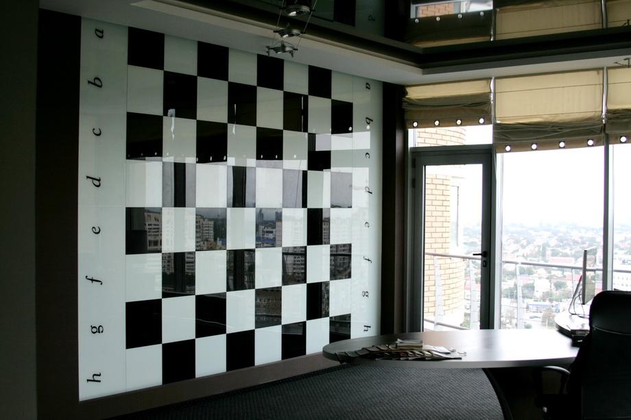 Декоративные стеклянные панели