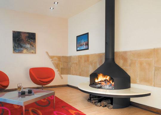 Дымоход в в современном доме