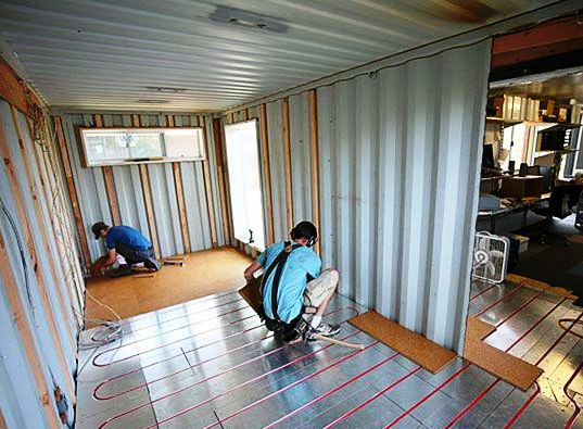Дом из контейнера видео