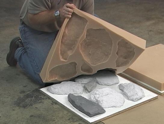 форма для искусственного камня