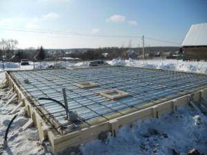 Строительство в зимний период