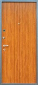Ламинированные входные двери