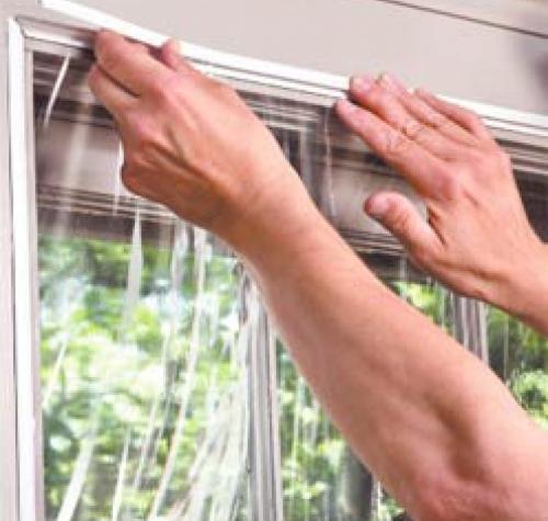 Утеплить пластиковое окно своими руками