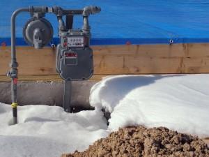 Зимняя заливка бетона