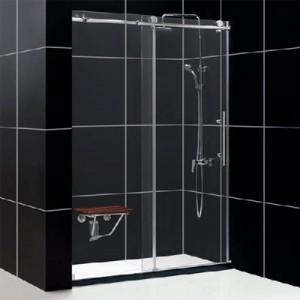Использование закалённого стекла для ограждения душевых кабин в ванных комнатах