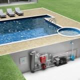 Нагрев воды в бассейне