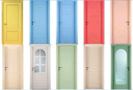 виды цветов дверей