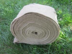 натуральная льно - джутовая межвенцовая лента