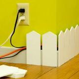 7 способов замаскировать  и хранить провода в квартире