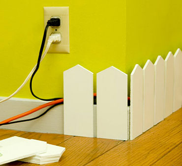 замаскировать провода в квартире