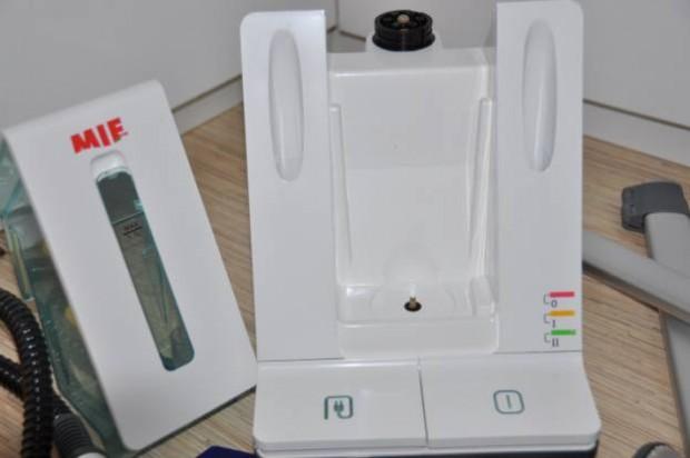 Кнопки управления на корпусе отпариватель для одежды MIE Magic Style