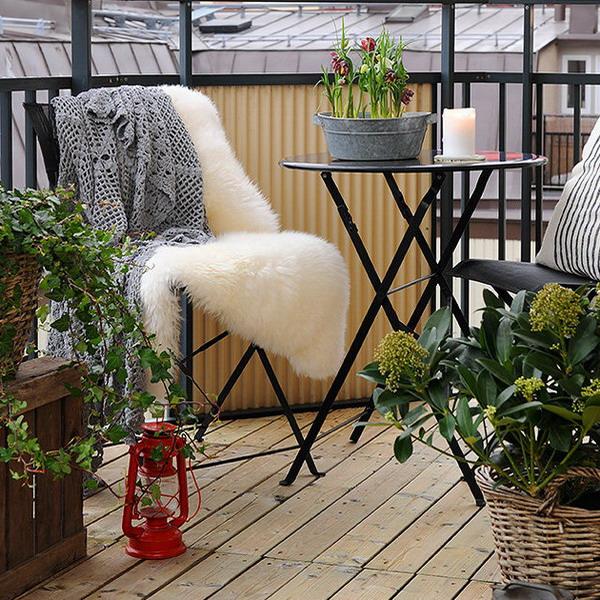 преобразить балкон к лету