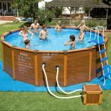 чистка портативного бассейна