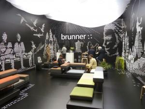 Brunner GmbH, выставочный стенд «Зал ожидания»