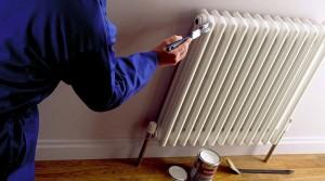покрасить радиатор отопления