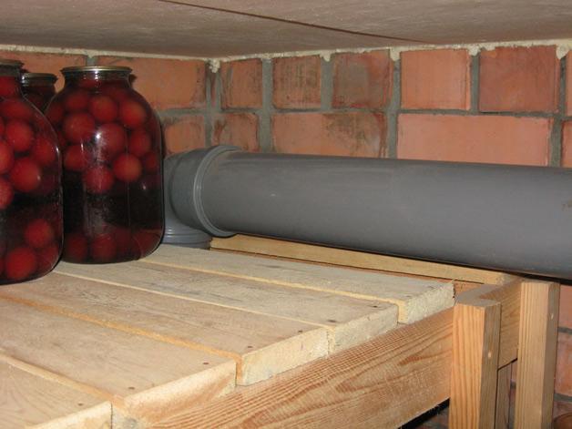 как сделать вентиляцию погреба в гараже