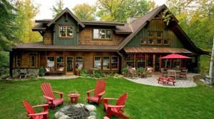 Дом в стиле ранчо