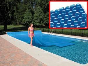 Пузырьковое накрытие для бассейна