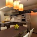 Cтоловая совмещенная с кухней 2