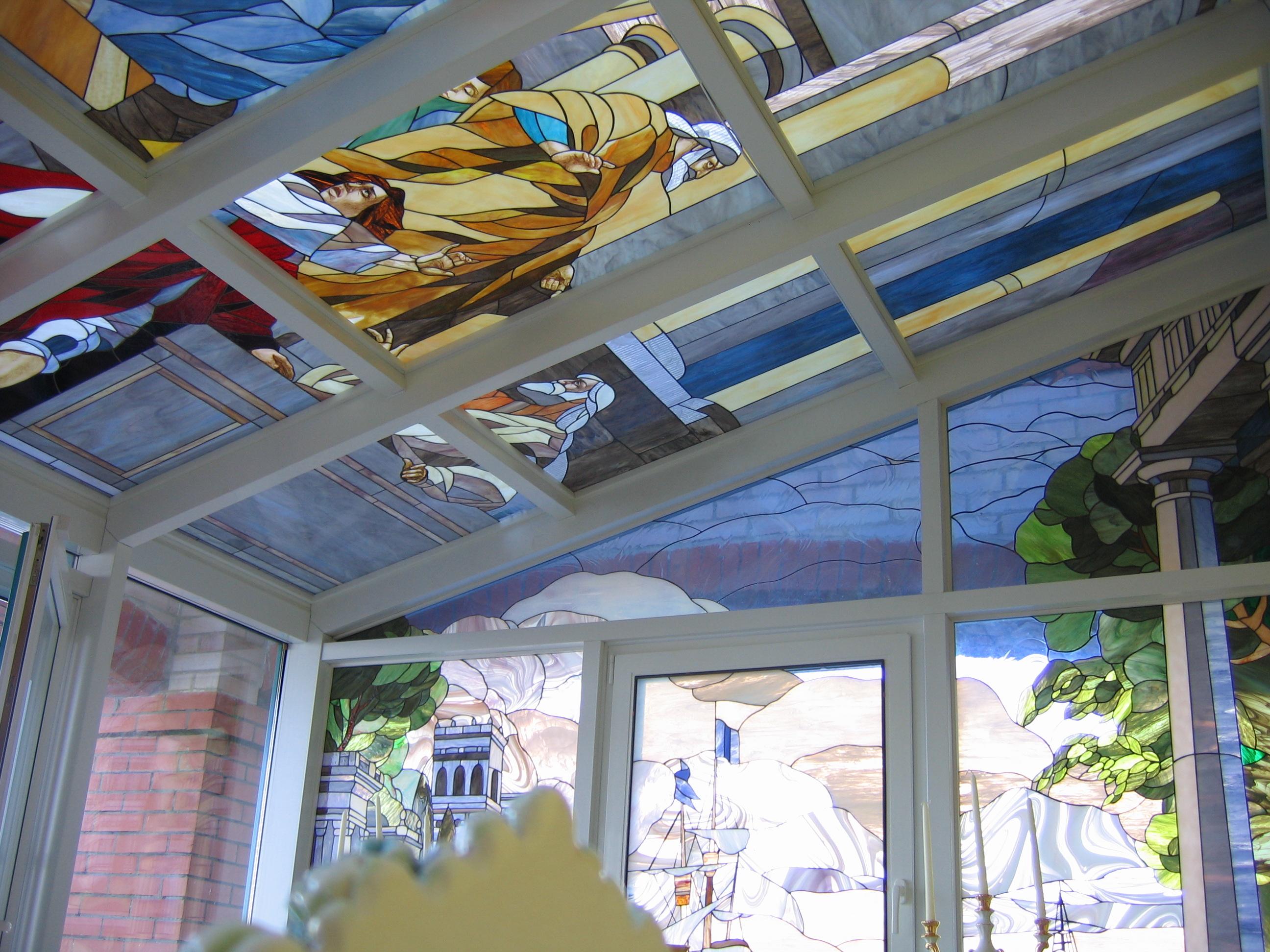 Декоративное остекление балкона или лоджии