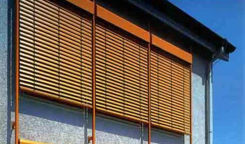 Солнцезащитные фасадные системы