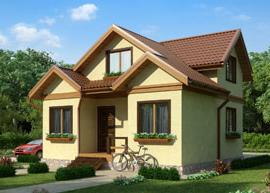 Каркасный дом из термопрофиля