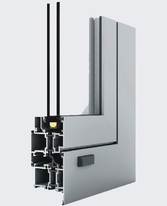 Окна из алюминиевых профилей
