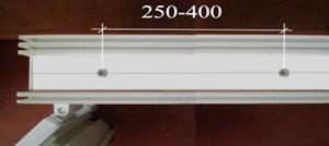 Армировочные винты на торце ПВХ профиля