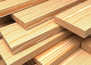 Доска из натуральной древесины