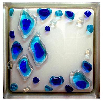 Декоративный материал – стеклоблоки
