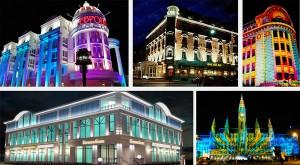 Примеры успешного светового оформления зданий и сооружений