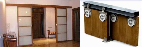 Двери купе - материалы и принцип сборки