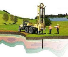 Исследование грунта (геодезические работы)