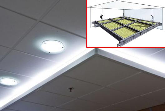 Потолок в ванную: классификация по способу монтажа и материалу