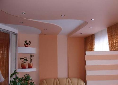 Как покрасить потолок из гипсокартона своими руками?