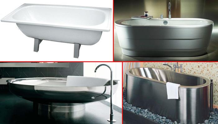 Из каких материалов производят ванны? Достоинства и недостатки разных материалов