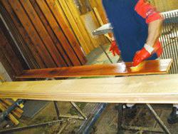 Искусственное старение древесины «Шапель»