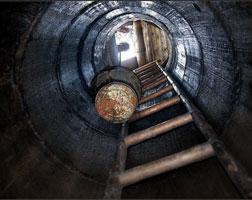 Чистка колодца в Подмосковье